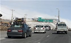 آخرین وضعیت ترافیکی راه های کشور +نقشه