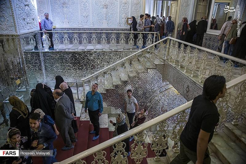بازدید نوروزی از کاخ گلستان