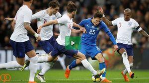 فیلم/ خلاصه دیدار دوستانه انگلیس 1-1 ایتالیا
