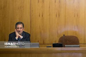 عکس/ جای خالی روحانی در جلسه هیات دولت
