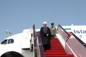 فرش قرمز آذربایجان برای روحانی