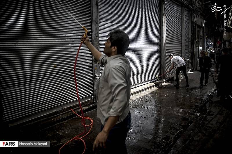 تهرانگردی نوروزی در محله عودلاجان