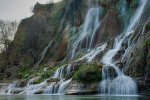 """عکس/ نوروز در کنار زیباترین """"آبشار"""" ایران"""