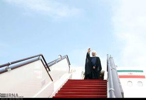 عکس/ استقبال از روحانی در فرودگاه مهرآباد