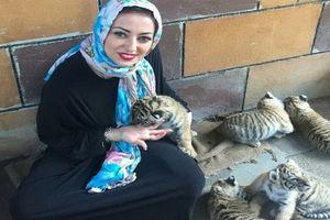 عکس/ تیپ سرخپوستی خانم بازیگر ایرانی!