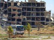 توقف روند اخراج تروریستها از شرق دمشق