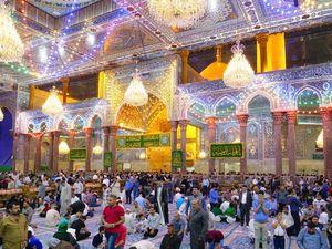 عکس/ نمایی زیبا از حرم حضرت اباعبدالله