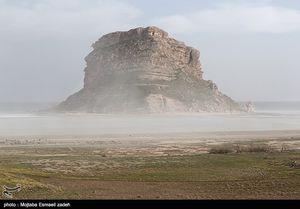 طوفان نمک در دریاچه ارومیه
