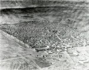 تصویر قدیمی از حرم مطهر امام علی(ع)