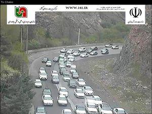 ترافیک سنگین در محورهای هراز، کندوان و سوادکوه