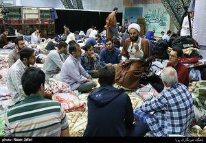 عکس/ حلقه های گفتگو در مراسم اعتکاف
