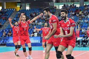 ایران-ایتالیا، افتتاحیه لیگ ملتهای والیبال