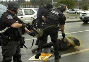 پلیس امریکا