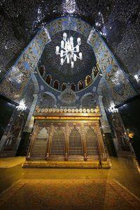 تصویری زیبا از مرقد مطهر حضرت زینب