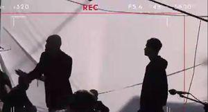 فیلم/لحظاتی از پشت صحنه لاتاری