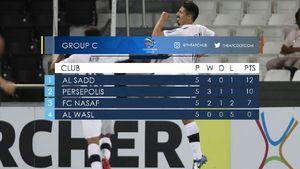 عکس/ جدول گروه C لیگ قهرمانان آسیا