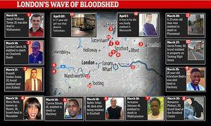 ادامه حوادث مرگبار در خیابانهای لندن +عکس