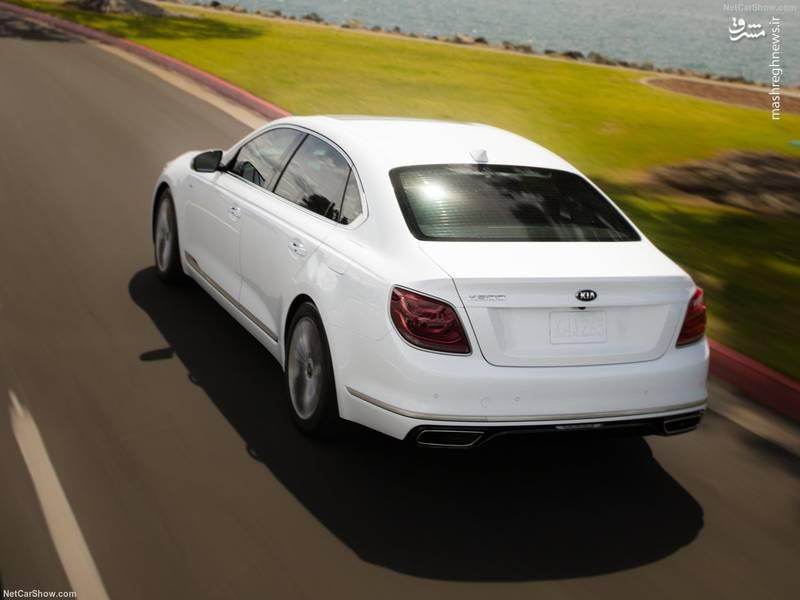 نسل جدید کیا کی ۹۰۰ با دو پیشرانه V6 یا V8 به بازار جهانی عرضه میشود