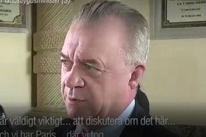 وزیر سوئدی