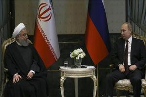 فیلم/ دیدار روحانی و پوتین در آنکارا