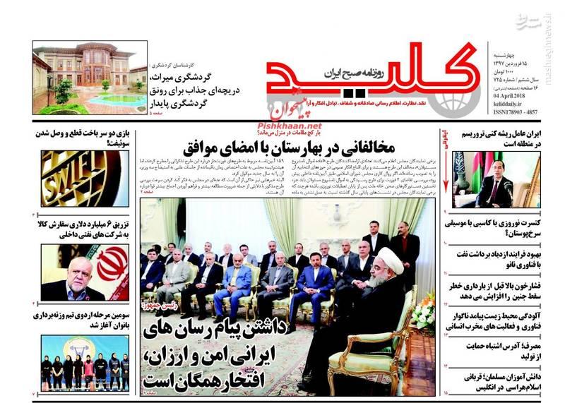 کلید: داشتن پیام رسان های ایرانی امن و ارزان، افتخار همگان است