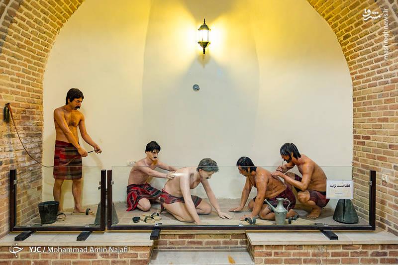 حمام قلعه به شکل سرد و گرم بوده است.