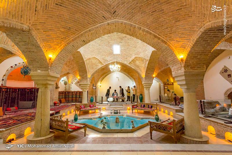 ه حمام حاج محمد سعید در یکی از محلههای قدیمی و اصیل همدان به نام محله قلعه یا قاشق تراشان واقع در خیابان شریعتی قرار گرفته است.