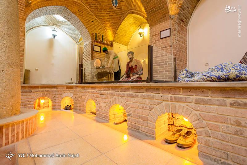 این حمام احتمالاً در اواخر دوره قاجار بنا شده و دارای مساحتی حدود یک هزار و 700 مترمربع است.