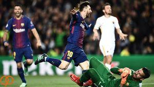 فیلم/ خلاصه دیدار بارسلونا 4-1 آاس رم