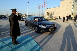خودروی تشریفات روحانی در ترکیه