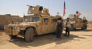 کاروان نظامیان آمریکایی - سوریه
