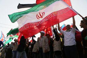 پرچم ایران در غزه برافراشته شد