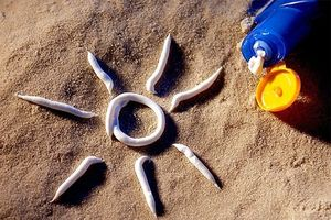 نحوه صحیح مصرف ضد آفتاب