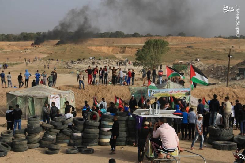 بنابر اعلام منابع #فلسطینی اکثر مناطقکرانهباختری از جمله نابلس درگیری آغاز شده است.