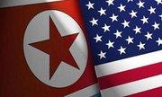 پرچم امریکا و کره شمالی نمایه