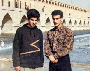 عکس/ تیپ دهه شصتی محسن تنابنده!