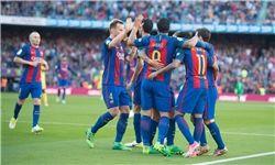 بارسلونا با شکار خفاش به قهرمانی نزدیک شد
