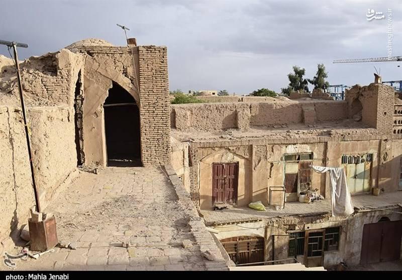 وضعیت اسفبار کاروانسرای هندوها در کرمان