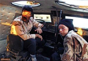 استوری جالب همسر شهید مدافع حرم برای سریال پایتخت
