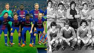 عکس/ بارسلونا به رکوردی تاریخی رسید