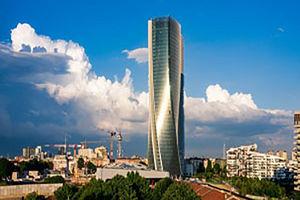 فیلم/ تایم لپسی جالب از ساخت برج میلان