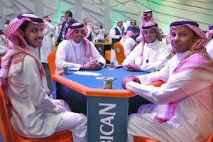 مسابقات ورق بازی سعودی ها