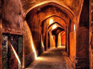 عکس/ نمایی زیبا از بازار قدیمی شهر یزد