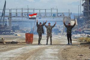 """فیلم/ کشفیات نیروهای سوری پس از آزادسازی""""دوما"""""""