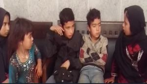 فیلم/ پیدا شدن ۶ کودک گم شده
