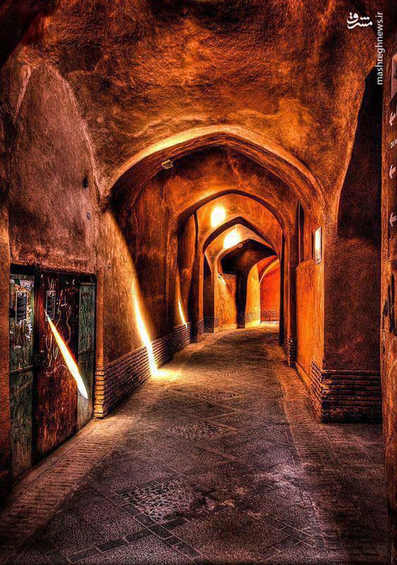 بازار قدیمی شهر یزد