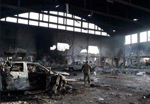 انتشار تصاویر اولیه از محل شهادت 7ایرانی در  فرودگاه «T۴»