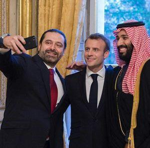 واکنش عربستان به افشاگری ماکرون در خصوص بازداشت حریری