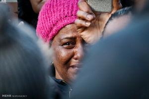 اعتراض به قتل یک سیاه پوست توسط پلیس آمریکا