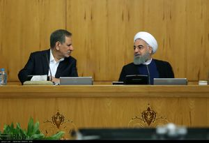 جلسه هیات دولت روحانی
